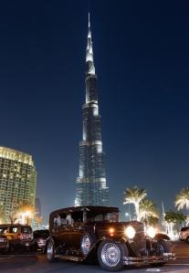 Shereen Shabnam Emirates Classic Car Festival