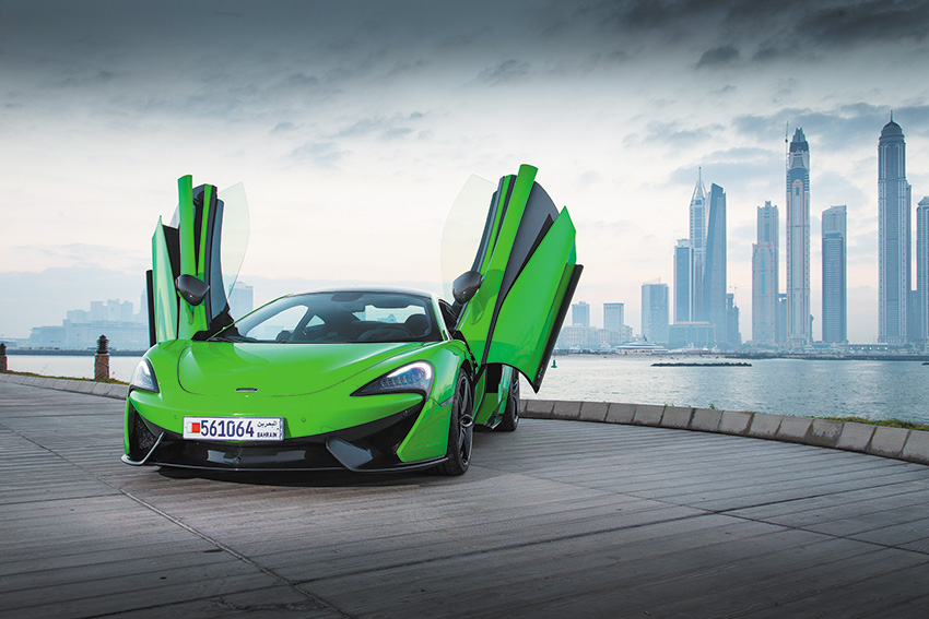 McLaren 570S Mantis Green