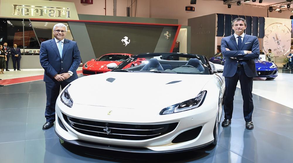 Ferrari At Dubai International  Motor Show 2017.jpg