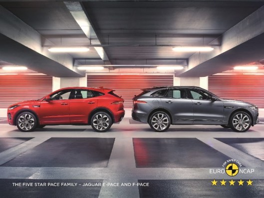 JAGUAR F-PACE SECURES FIVE-STAR SAFETY RATING 1