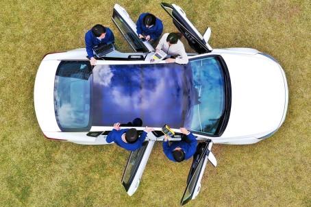Hyundai Motor Group reveals solar charging technology_2 (2)