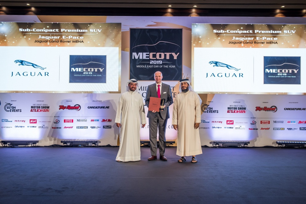 Triple win for JLR at MECOTY (2)