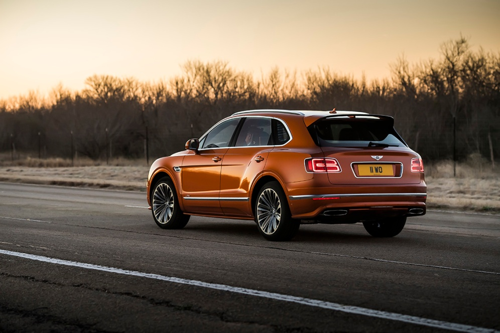 Bentayga Speed 9